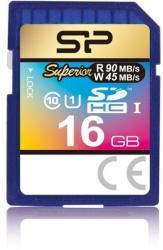 Silicon Power SDHC 16GB UHS-I Class 10 SP016GBSDHCU1V10