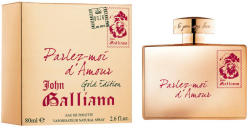 John Galliano Parlez-moi d'Amour Gold Edition EDT 80ml