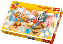 Trefl Tom és Jerry Ínycsiklandó reggeli 100 db-os (16196)