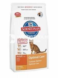 Hill's SP Feline Adult Optimal Care Chicken 10kg