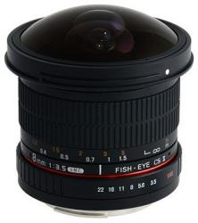 Samyang 8mm f/3.5 IF MC Asp CS II (Canon)