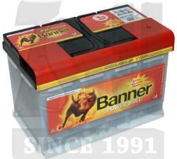 Banner Power Bull Professional 12V 75Ah 680A Jobb+ P7540