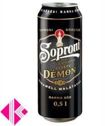 Soproni Fekete Démon dobozos sör 0,5l 5,2%