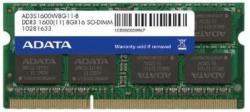 ADATA 2GB DDR3 1600MHz AD3S1600C2G11-B