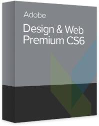 Adobe Creative Suite CS6 Design Web Premium EU 65177296