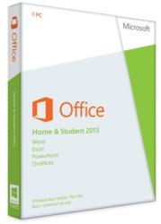 Microsoft Office 2013 Home & Student 32/64bit ENG (1 User) 79G-03549