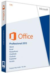 Microsoft Office 2013 Professional 32/64bit ENG (1 User) 269-16093