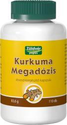 Zöldvér Kurkuma Megadózis kapszula 110db