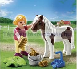 Playmobil Kislány pónival (5291)