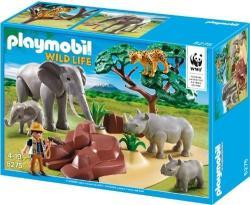 Playmobil WWF kutatók a szavannán 5275