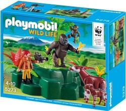 Playmobil WWF Zoológus Gorillával, okapikkal 5273