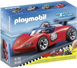 Playmobil Hátrahúzható versenyautó - Tűzpiros sportkocsi (5175)