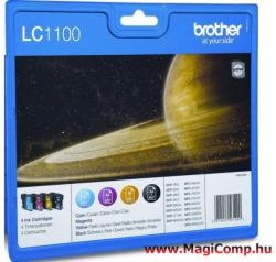 Brother LC1100VALBPDR Value Pack (BK/C/M/Y)