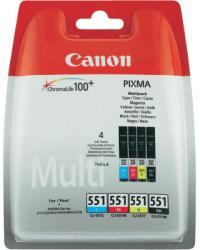 Canon CLI-551 MultiPack (BK/C/M/Y) 6509B009