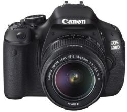 Canon EOS 600D + 18-55mm IS II (AC5170B006AA)