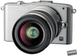 Olympus PEN E-PM1 + EZ-M1250 12-50mm (V20601BSE000)