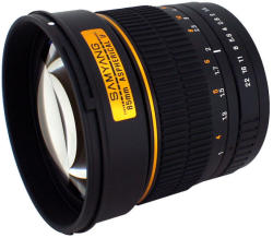 Samyang 85mm f/1.4 IF MC Asp (Canon)