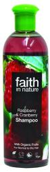 Faith in Nature Málna és vörösáfonya sampon 250ml
