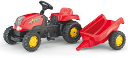 Rolly Toys Tractor Cu Pedale Si Remorca 012121