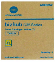 Konica Minolta TNP22Y Yellow (A0X5252)