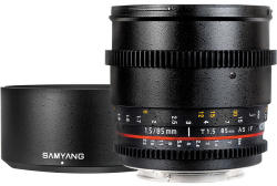 Samyang 85mm T1.5 AS IF UMC VDSLR (Canon)