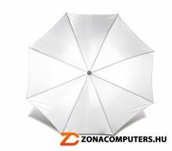 Automata esernyő, hajlított fa nyéllel - fehér (RAE002)