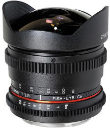 Samyang 8mm T3.8 CS II Fish-Eye VDSLR (Canon)