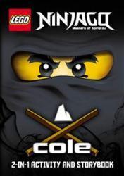 LEGO Ninjago Könyv 2in1 handbook Jay és Cole BOOK15