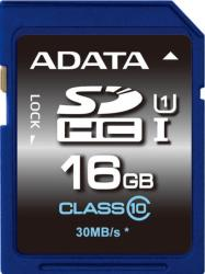 ADATA SDHC 16GB UHS-I Class 10 ASDH16GUICL10-R