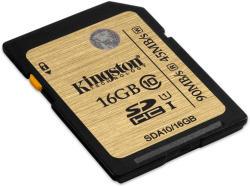 Kingston SDHC Ultimate 16GB UHS-I Class 10 SDA10/16GB