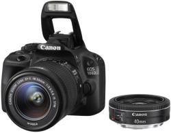 Canon EOS 100D + 18-55mm IS STM + 40mm STM