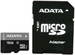 ADATA microSDHC Premier 16GB C10/U1/UHS-I AUSDH16GUICL10-RA1