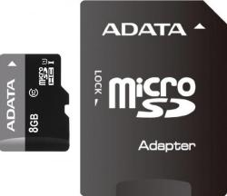 ADATA MicroSDHC 8GB Class 10 UHS-I AUSDH8GUICL10-RA1