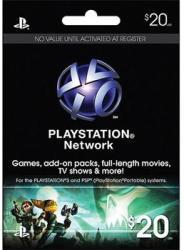 Sony PlayStation Network Card 20 USD