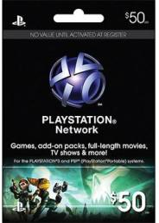 Sony Playstation Network 50 USD