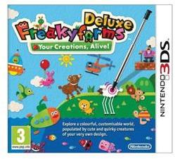 Nintendo Freakyforms Deluxe Your Creations, Alive! (3DS)