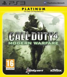 Activision Call Of Duty 4 Modern Warfare [Platinum] (PS3)
