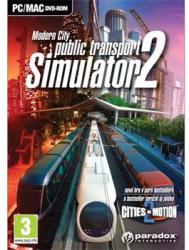 Paradox Interactive Public Transport Simulator 2 Modern City (PC)
