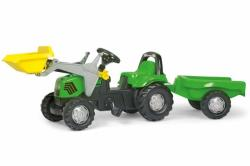 Rolly Toys Tractor Cu Pedale Si Remorca 023196