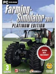 Giants Software Farming Simulator 2011 [Platinum Edition] (PC)