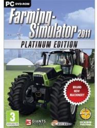 Giants Software Farming Simulator 2011 [Platinum Edition] (PC)