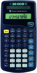 Texas Instruments TI 30 Eco