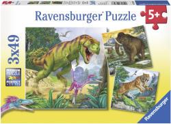 Ravensburger Dinoszauruszok 3 x 49 db (34333)