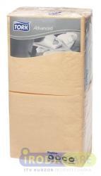Tork Advanced csontszín - 1/4 hajtogatott, 2 rétegű, 24x24 cm (KHH184)