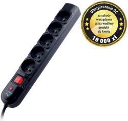 Tracer PowerGuard+ 5 Plug 1,8m Switch (TRALIS30406)