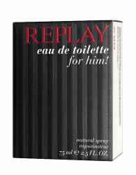 Replay for Him EDT 75ml Tester