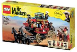 LEGO Lone Ranger - Menekülés a postakocsin (79108)