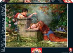 Educa Genuine While she was sleeping - Míg a lány alszik 1500 db-os (15580)