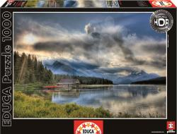 Educa Maligne Lake Boathouse Canada 1000 (15558)