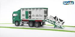 BRUDER Camion MAN pentru transport bovine (2749)